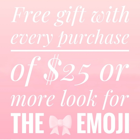 🎀FREE GIFT WITH PURCHASE🎀